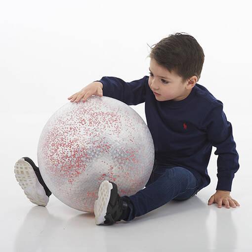 Baby sensory constellation ball sound clear ball