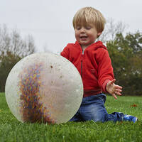 baby sensory constellation ball sound clear ball