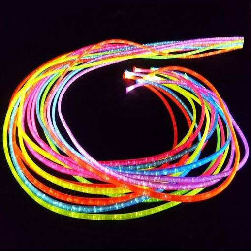Uv jumbo fibre optics lighting for sensory rooms