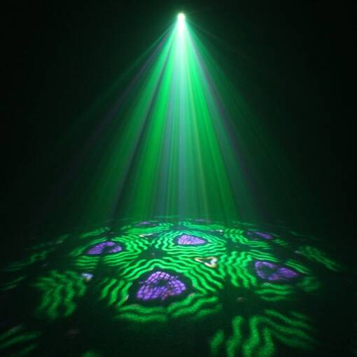 Kaleido effects projector for sensory rooms, shows and parties