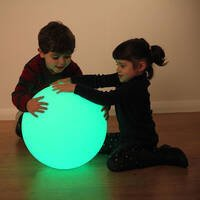 led sensory mood ball sphere light up hollow ball