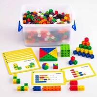 2cm linking cubes classroom set for early years