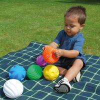 tactile sensory ball set of 6