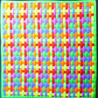 uv ultraviolet woven mat for sensory and tactile stimulation