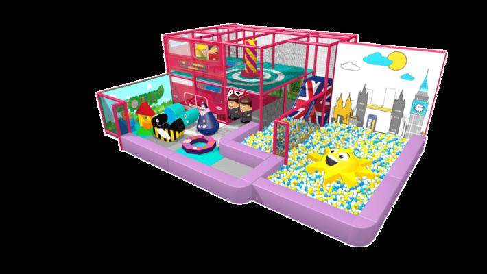 Indoor playground soft play structure