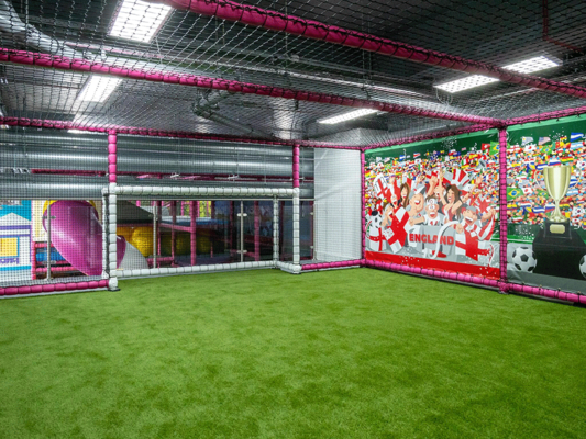 Soft play sports area