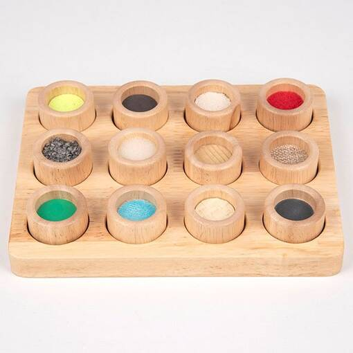 Sensory stimulus touch and match board game for early years and care homes
