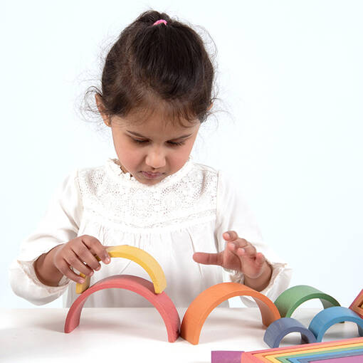 Rainbow architect arches for early years