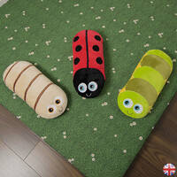 Bolster buddies tactile sensory cushion