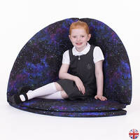 Galaxy effect corner floor mat