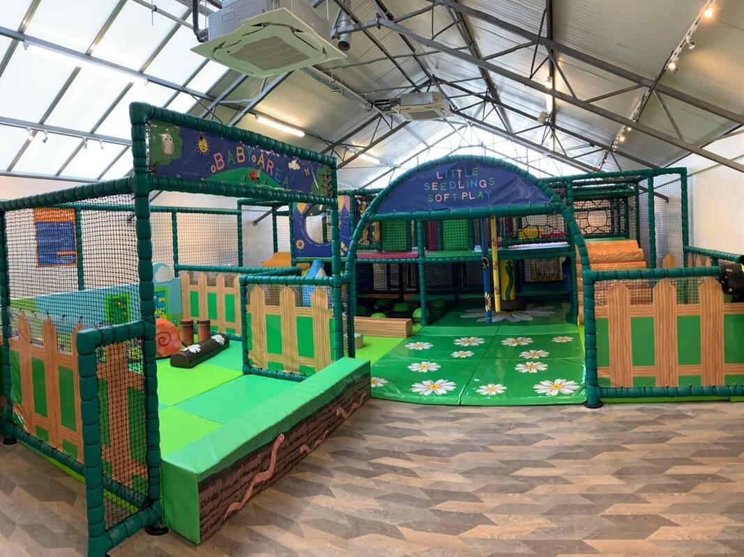 Dobbies woodcote green indoor play area