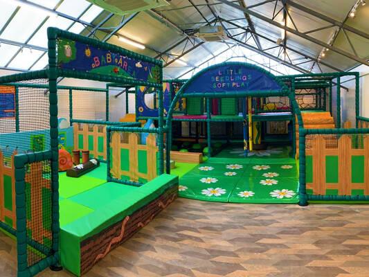 Play area dobbies garden centre